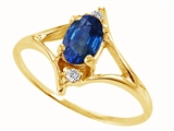 Tommaso Design™ Genuine Sapphire Ring style: 21875