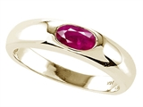 Tommaso Design™ Genuine Ruby Ring style: 22548