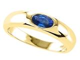 Tommaso Design™ Genuine Sapphire Ring style: 22549