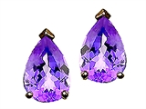 Tommaso Design™ Pear Shape 7x5mm Genuine Tanzanite Earrings style: 22715