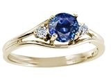 Tommaso Design™ Genuine Sapphire Ring style: 24984