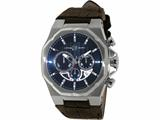 Officina Del Tempo Race II 42mm Chronograph Leather Band  (OT1041/1100BM) Made in Italy style: OT10411100BM