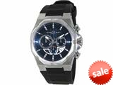 Officina Del Tempo Race II 42mm Chronograph Gel Band (OT1041/1101BN) Made in Italy style: OT10411101BN