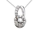 Round Diamonds Pendant style: 670001