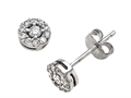 Finejewelers Round Diamonds Earrings