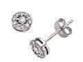 Round Diamonds Earrings