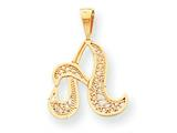 10k Script Initial A Charm style: 10C242A