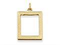 Finejewelers 14k Picture Frame Pendant 18 inch chain included