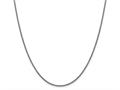 Finejewelers 14k White Gold 1.5mm Hollow Round Box Chain