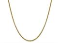 Finejewelers 14 kt Yellow Gold 2.45mm Hollow Round Box Chain