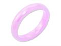 Chisel Ceramic Pink 4mm Polished Wedding Band