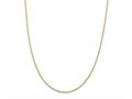 24 Inch 14k Yellow Gold .75mm Solid Polished Cable Chain Necklace