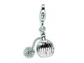 Amore LaVita™ Sterling Silver Perfume w/Lobster Clasp Bracelet Charm