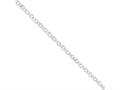 16 Inch Sterling Silver 4.75mm Fancy Rolo Chain Necklace