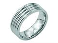 Chisel Stainless Steel Grooved 8mm Polished Weeding Band