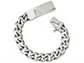 Chisel Stainless Steel Polished W/id Plate 8.5in Bracelet