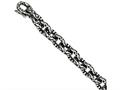 Chisel Stainless Steel Antiqued And Textured 8.25in Bracelet