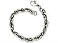 Chisel Stainless Steel Oval Links 8in Bracelet