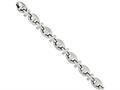Chisel Stainless Steel Polished Fancy 8.5in Bracelet