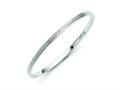 Chisel Stainless Steel Polished Bangle