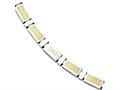 Chisel Stainless Steel Yellow Ip-plated Link Polished Dad Bracelet