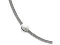 Chisel Stainless Steel Polished Oval W/1.25in Extension Bracelet