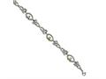 Chisel Stainless Steel Polished Yellow Ip-plated Claddagh Bracelet