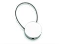 Chisel Stainless Steel Polished Cable Circle Key Ring