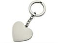 Chisel Stainless Steel Polished Heart Key Ring