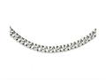 Chisel Stainless Steel Polished Link 24in Necklace