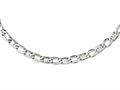 Chisel Stainless Steel Polished Open Links Necklace