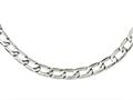 Chisel Stainless Steel Polished Squares Necklace