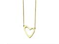 Chisel Stainless Steel Yellow Ip-plated Polished With 2in Ext. Necklace