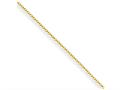 Chisel Yellow Rhodium Over Brass 1.70mm Plated Fancy Chain Necklace