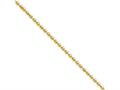 Chisel Stainless Steel Ip Gold-plated 2.0mm 24in Ball Chain Necklace