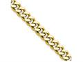 Chisel Stainless Steel 4mm Ip Gold-plated 30in Curb Chain Necklace