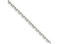 Chisel Stainless Steel 5.3mm 24in Cable Chain Necklace