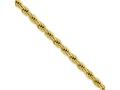 Chisel Stainless Steel Ip Gold-plated 4.0mm 24in Rope Chain Necklace