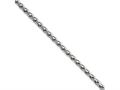 Chisel Stainless Steel 3.5mm Wheat 24in Chain Necklace