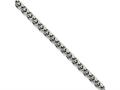 Chisel Stainless Steel 4.0mm Wheat 24in Chain Necklace