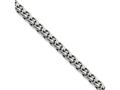 Chisel Stainless Steel 4.5mm Wheat 24in Chain Necklace