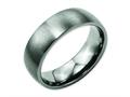 Chisel Titanium 7mm Brushed Wedding Band