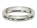 Chisel Titanium 4mm Polished Wedding Band