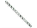 Chisel Titanium Brushed and Polished Bracelet - 8.75 inches