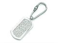 Chisel Titanium  Pebble Textured Key Ring