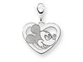 Disney Mickey Heart Lobster Clasp Charm