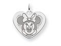 Disney Minnie Heart Charm