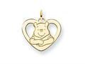 Disney Winnie the Pooh Heart Charm