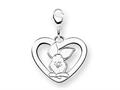 Disney Piglet Heart Lobster Clasp Charm