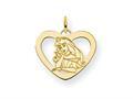 Disney Aurora Heart Charm